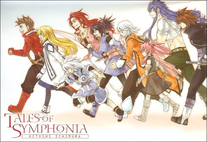 nintendo gamecube tales of symphonia