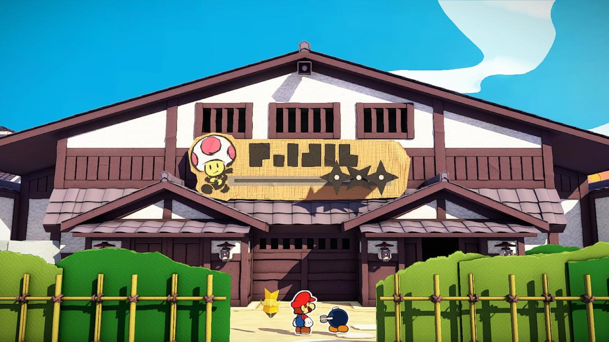Image Paper Mario : The Origami King 9