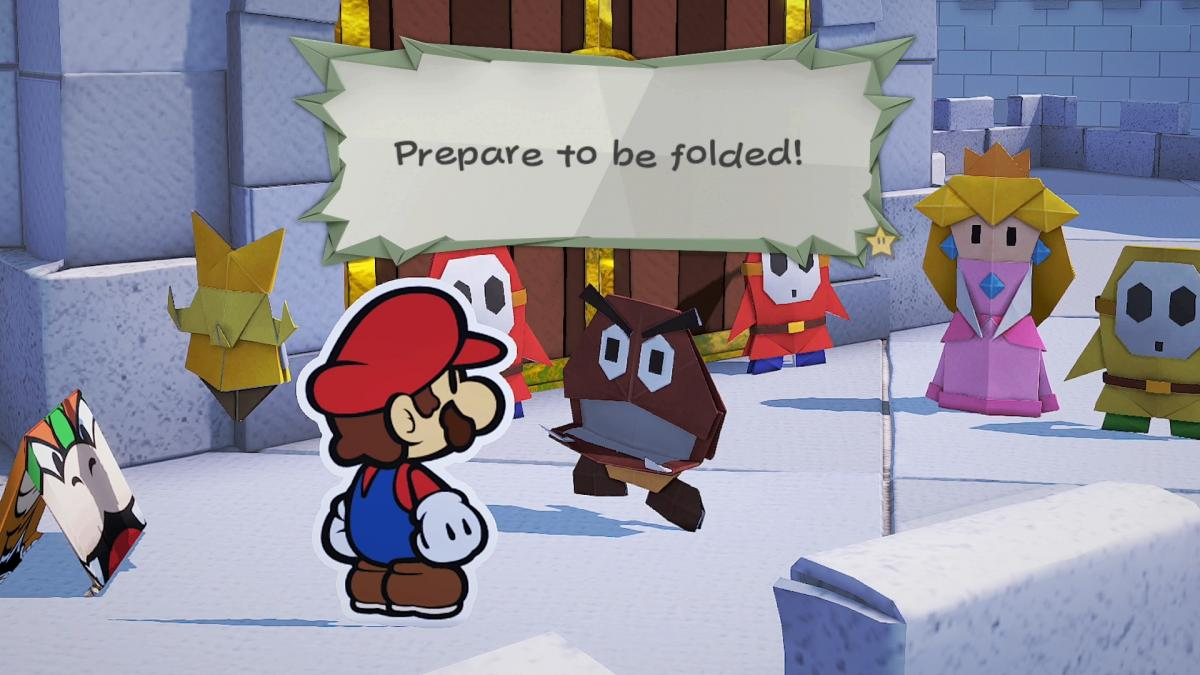 Image Paper Mario : The Origami King 18