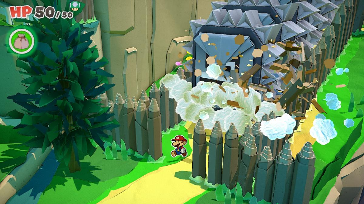 Image Paper Mario : The Origami King 20