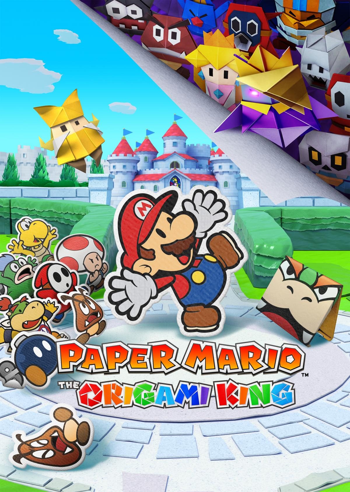 Image Paper Mario : The Origami King 1