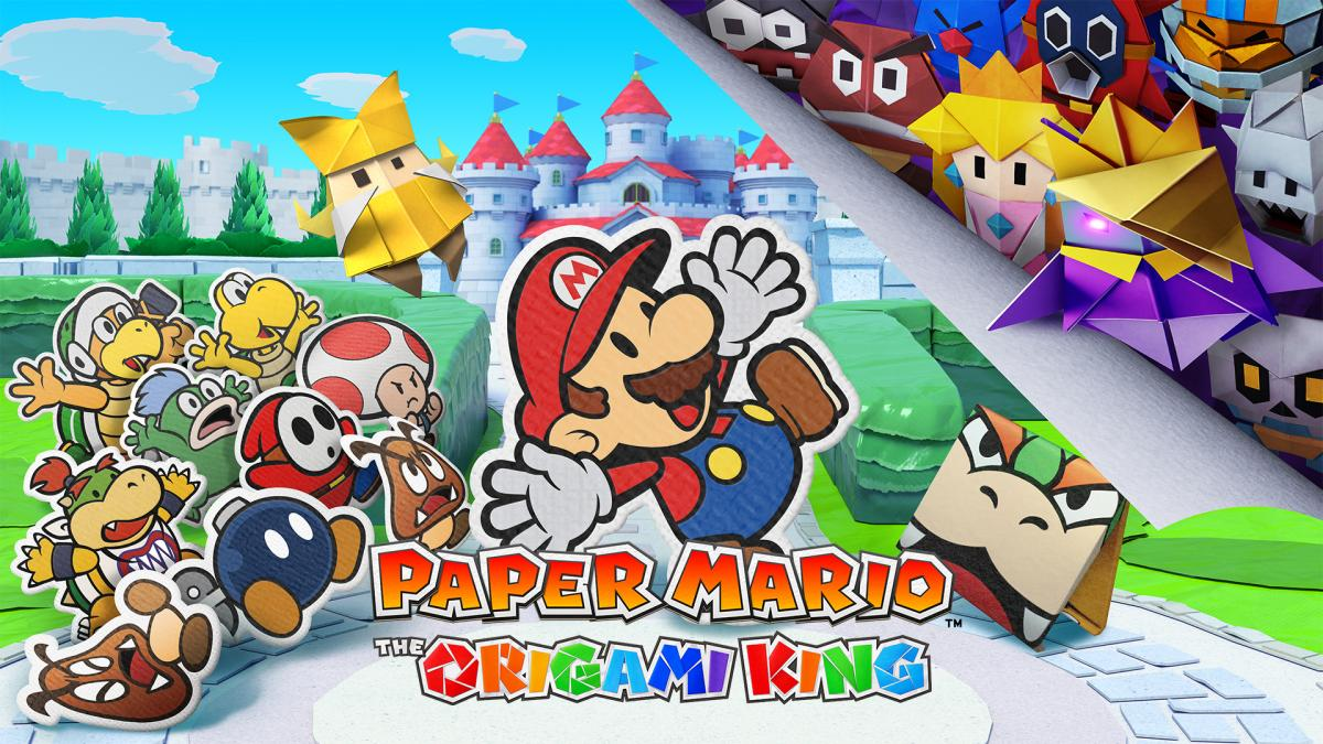 Image Paper Mario : The Origami King 2