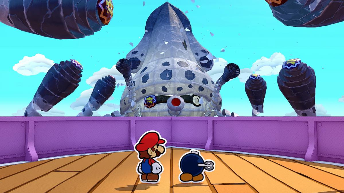 Image Paper Mario : The Origami King 10