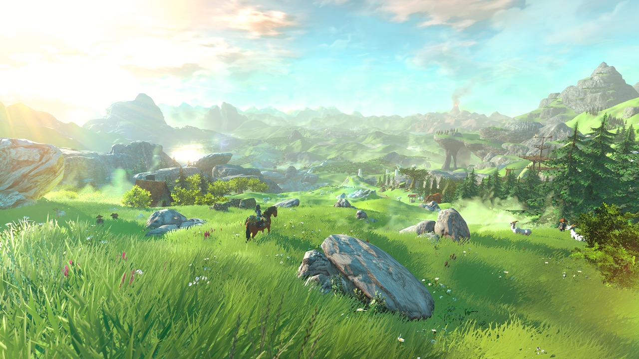 Image The Legend of Zelda : Breath of the Wild 1