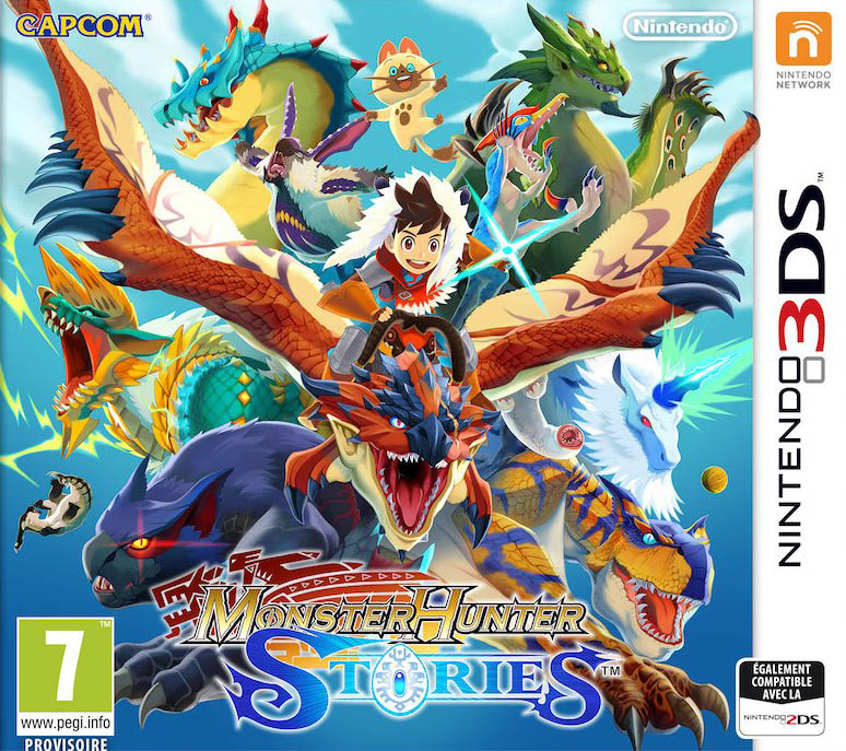 Jaquette de Monster Hunter Stories