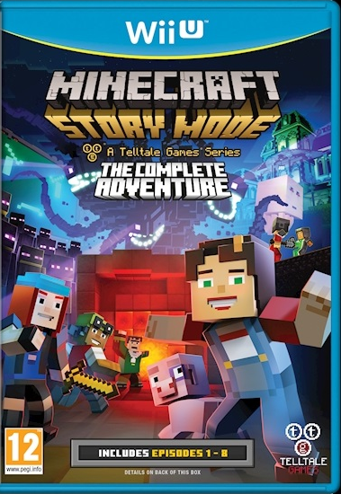 Minecraft Story Mode En Bo 238 Te Sur Wii U G 233 N 233 Ration