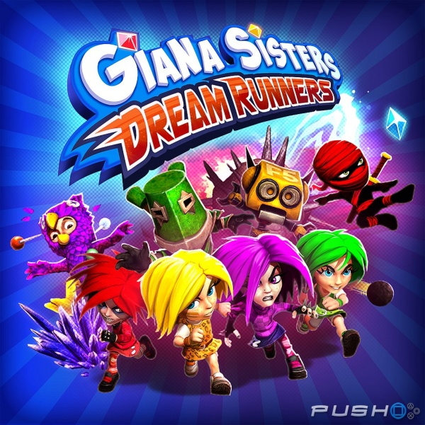 Jaquette de Giana Sisters: Dream Runners
