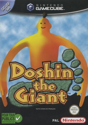 Jaquette de Doshin the Giant