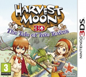 Jaquette de Harvest Moon : The Tale of Two Towns