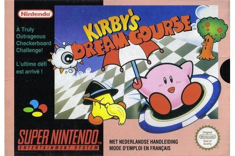 Jaquette de Kirby's Dream Course
