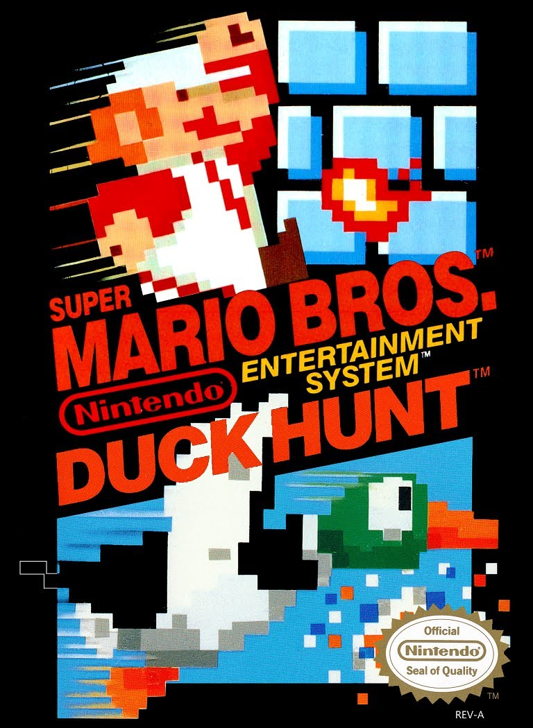 Jaquette de Super Mario Bros. + Duck Hunt