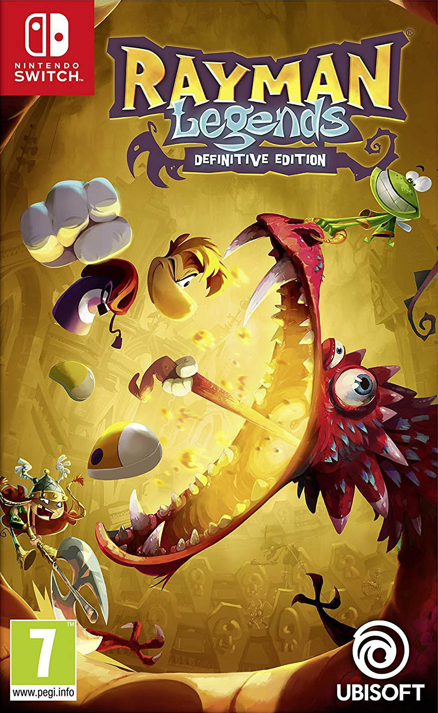 Jaquette de Rayman Legends : Definitive Edition