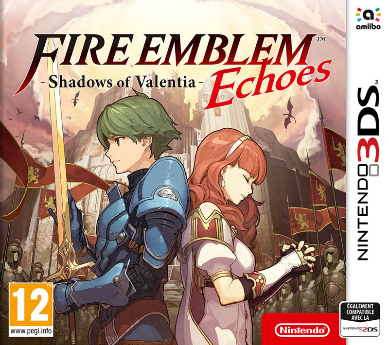 Jaquette de Fire Emblem Echoes : Shadows of Valentia