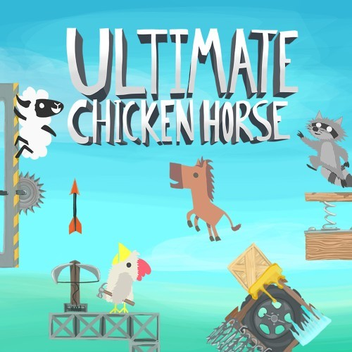 Jaquette de Ultimate Chicken Horse