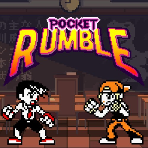 Jaquette de Pocket Rumble