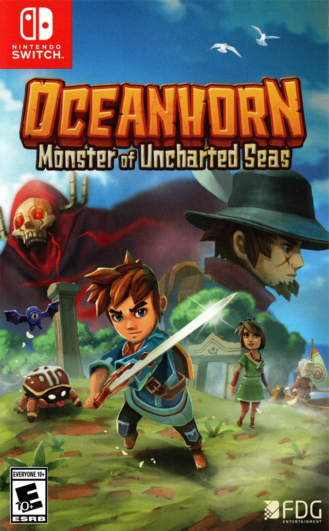 Jaquette de Oceanhorn : Monster of Uncharted Seas