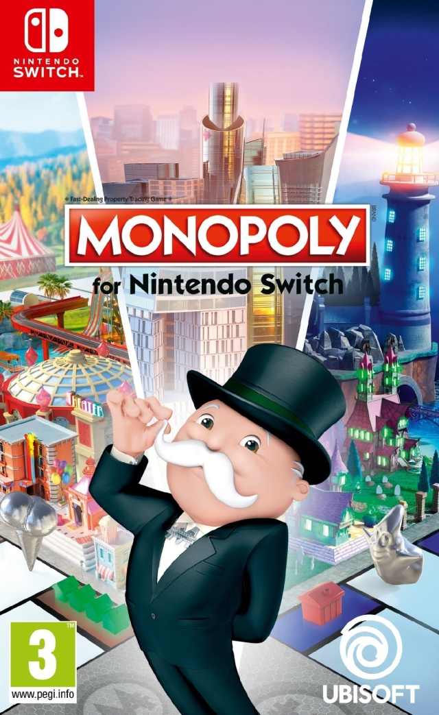Jaquette de Monopoly for Nintendo Switch