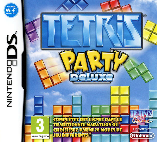 Jaquette de Tetris Party Deluxe