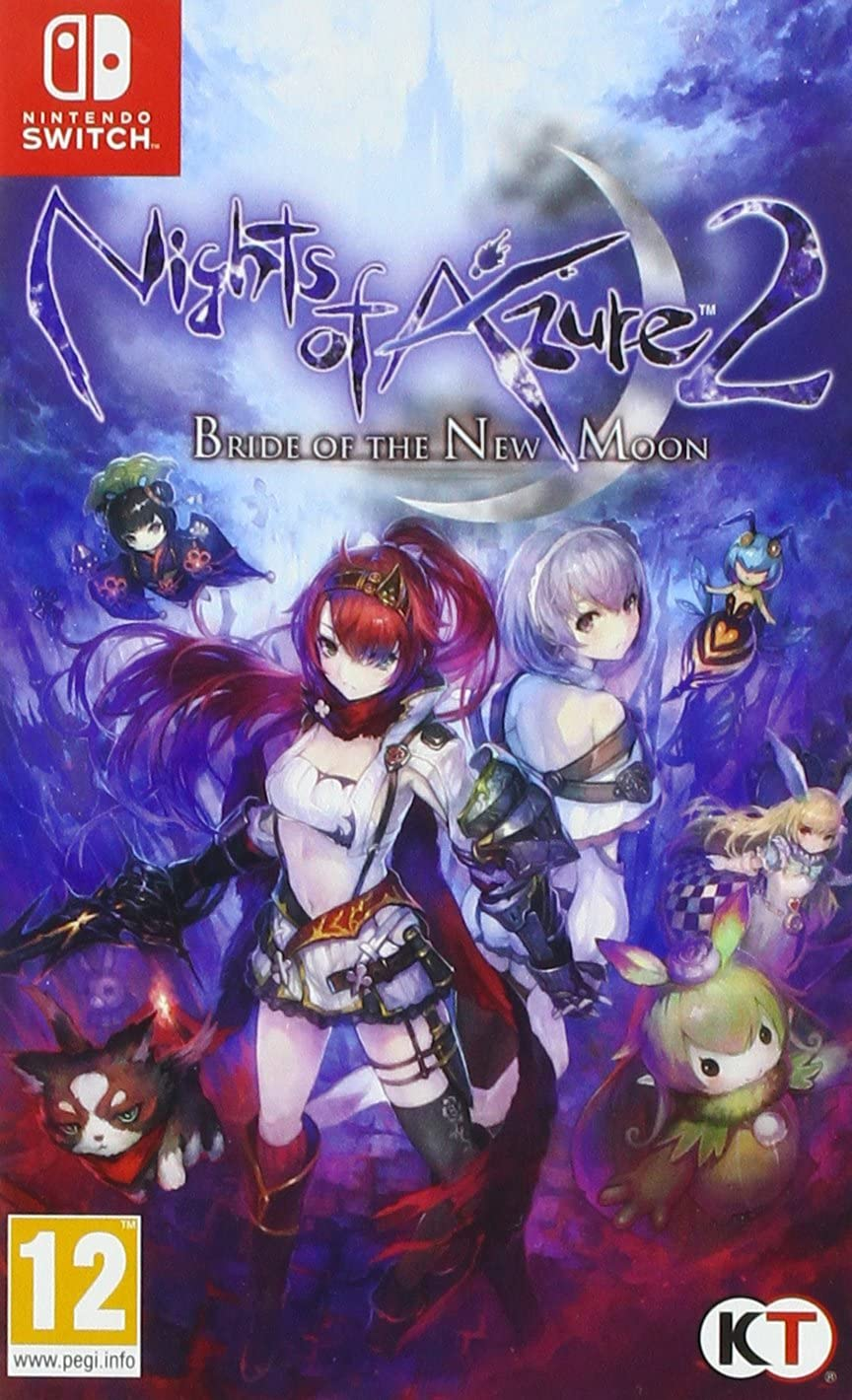 Jaquette de Nights of Azure 2 : Bride of the New Moon
