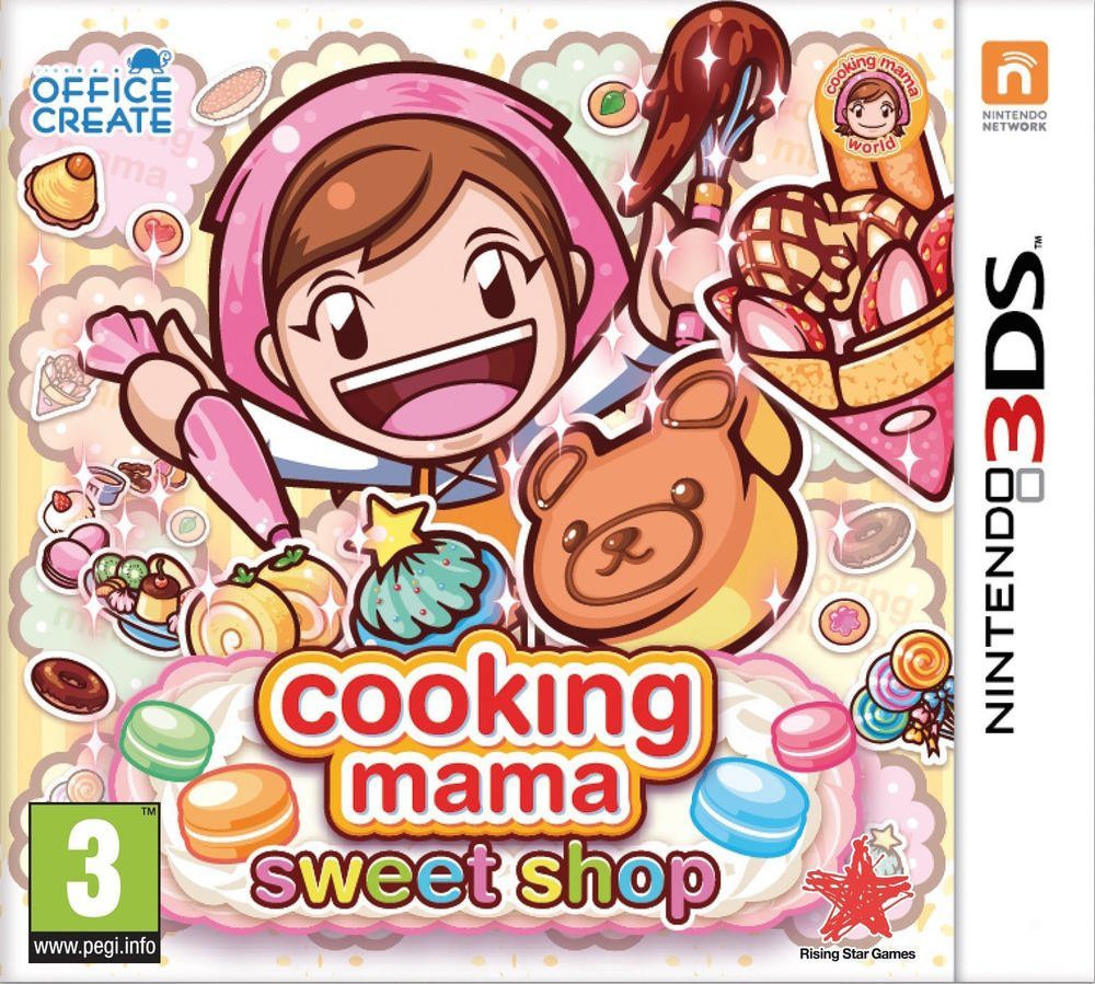 Jaquette de Cooking Mama : Sweet Shop