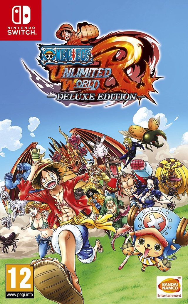 Jaquette de One Piece: Unlimited World Red Deluxe Edition