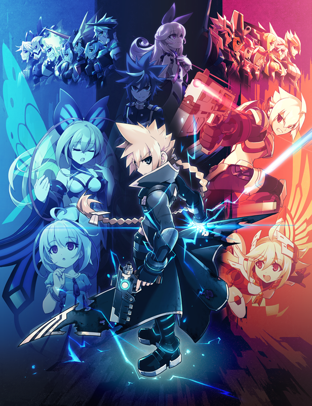 Jaquette de Azure Striker Gunvolt: Striker Pack