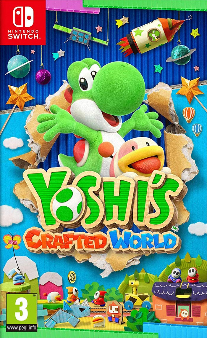 Jaquette de Yoshi's Crafted World