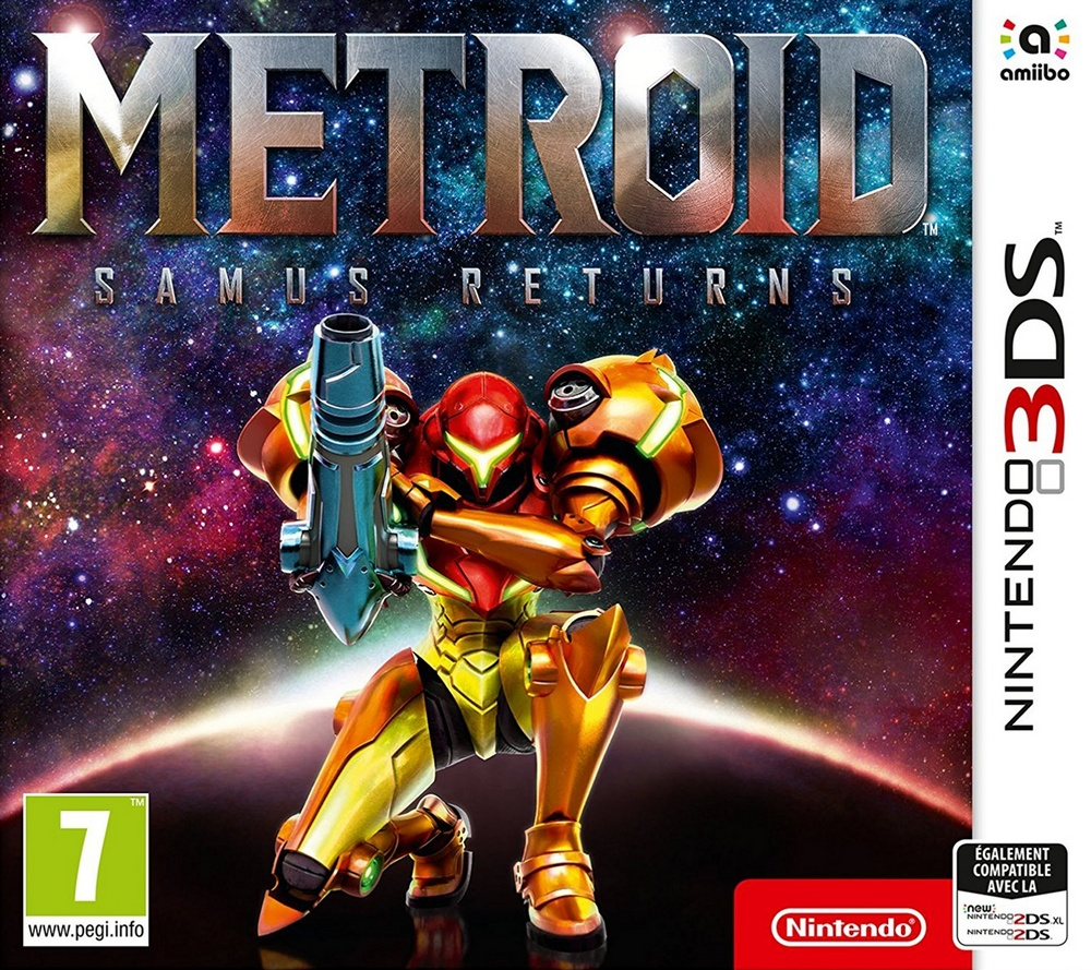 Jaquette de Metroid : Samus Returns