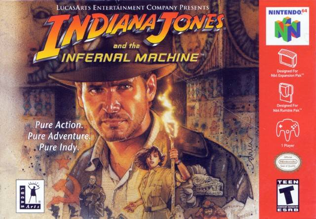 Jaquette de Indiana Jones and the Infernal Machine