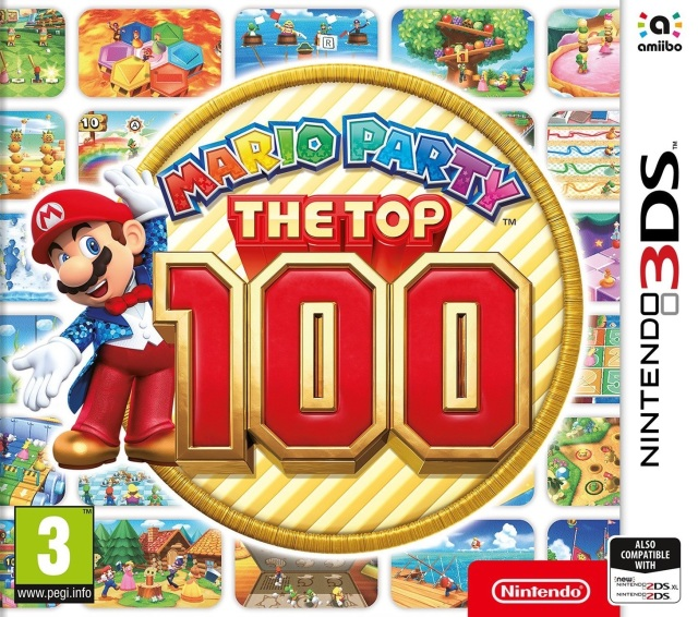 Jaquette de Mario Party: The Top 100