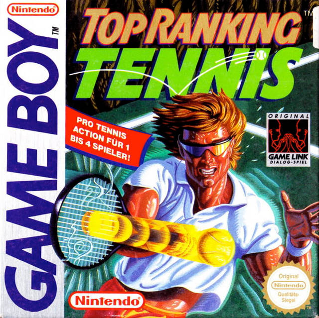 Jaquette de Top Rank Tennis