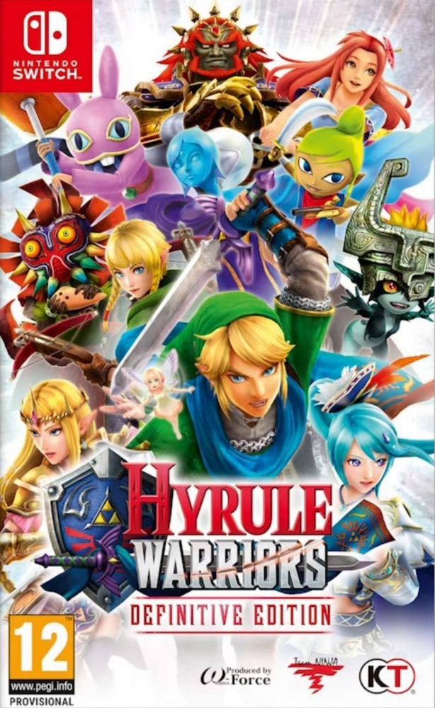 Jaquette de Hyrule Warriors: Definitive Edition