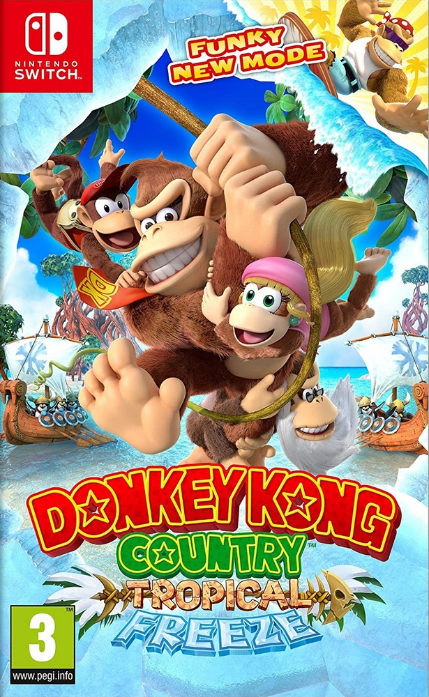 Jaquette de Donkey Kong Country : Tropical Freeze