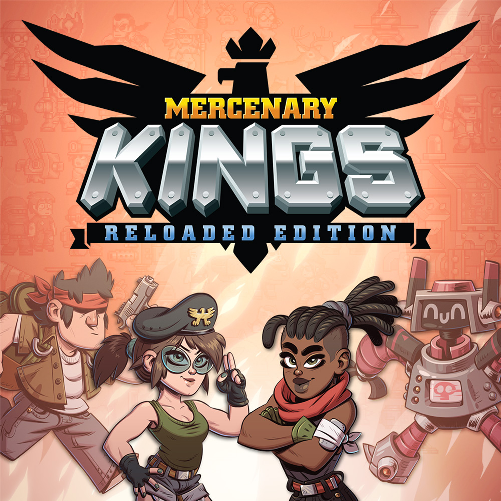 Jaquette de Mercenary Kings