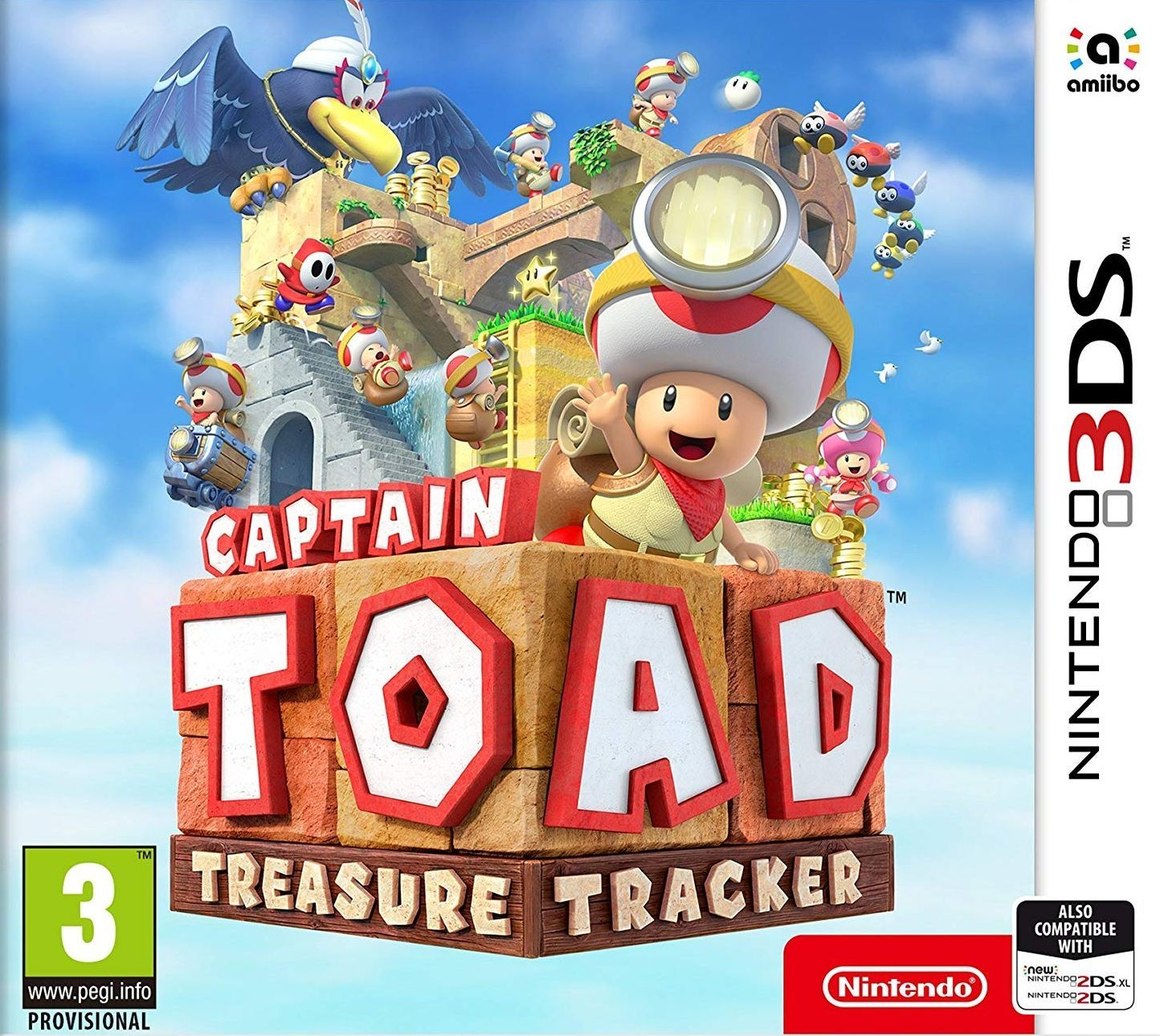 Jaquette de Captain Toad : Treasure Tracker