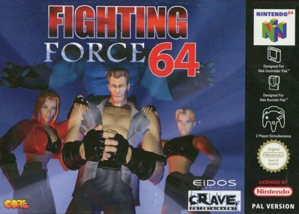 Jaquette de Fighting Force 64