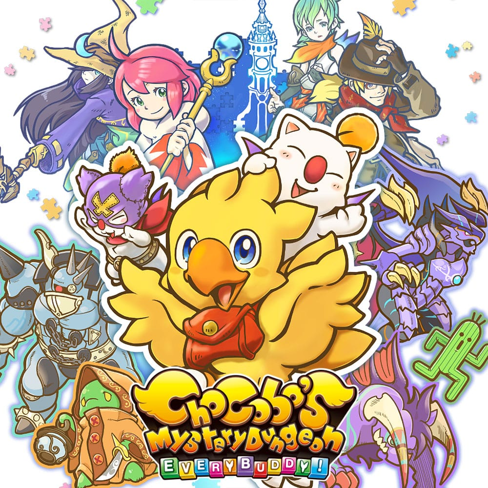 Jaquette de Chocobo's Mystery Dungeon: Every Buddy!