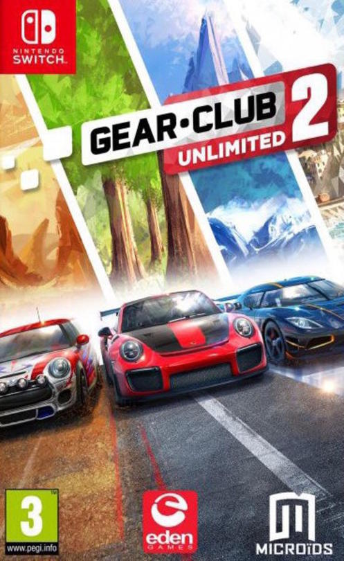 Jaquette de Gear Club Unlimited 2