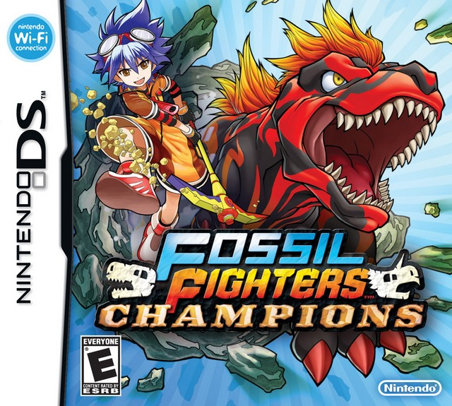 Jaquette de Fossil Fighters : Champions