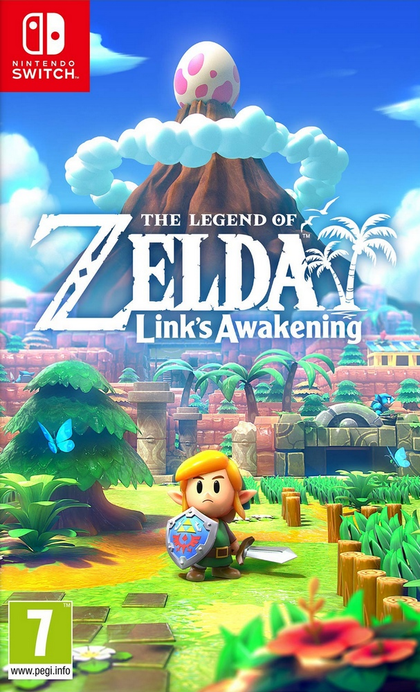 Jaquette de The Legend of Zelda : Link's Awakening (2019)