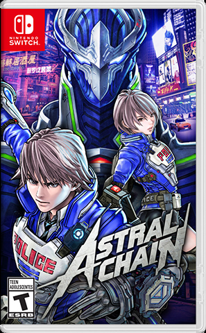 Jaquette de ASTRAL CHAIN