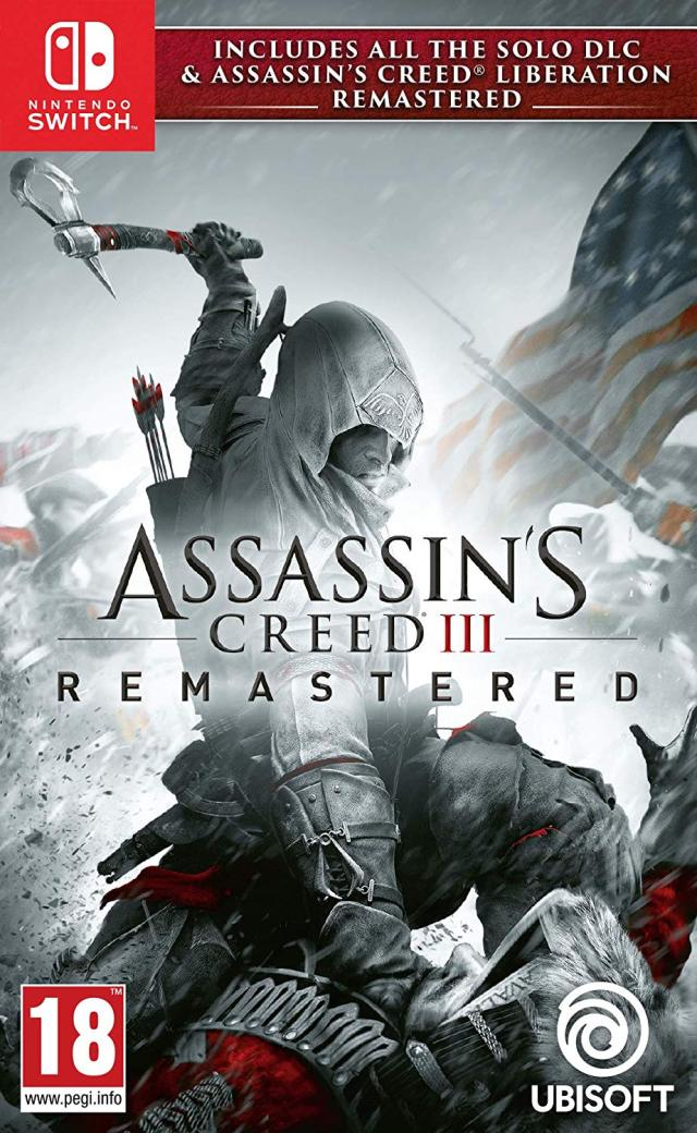 Jaquette de Assassin's Creed III Remastered