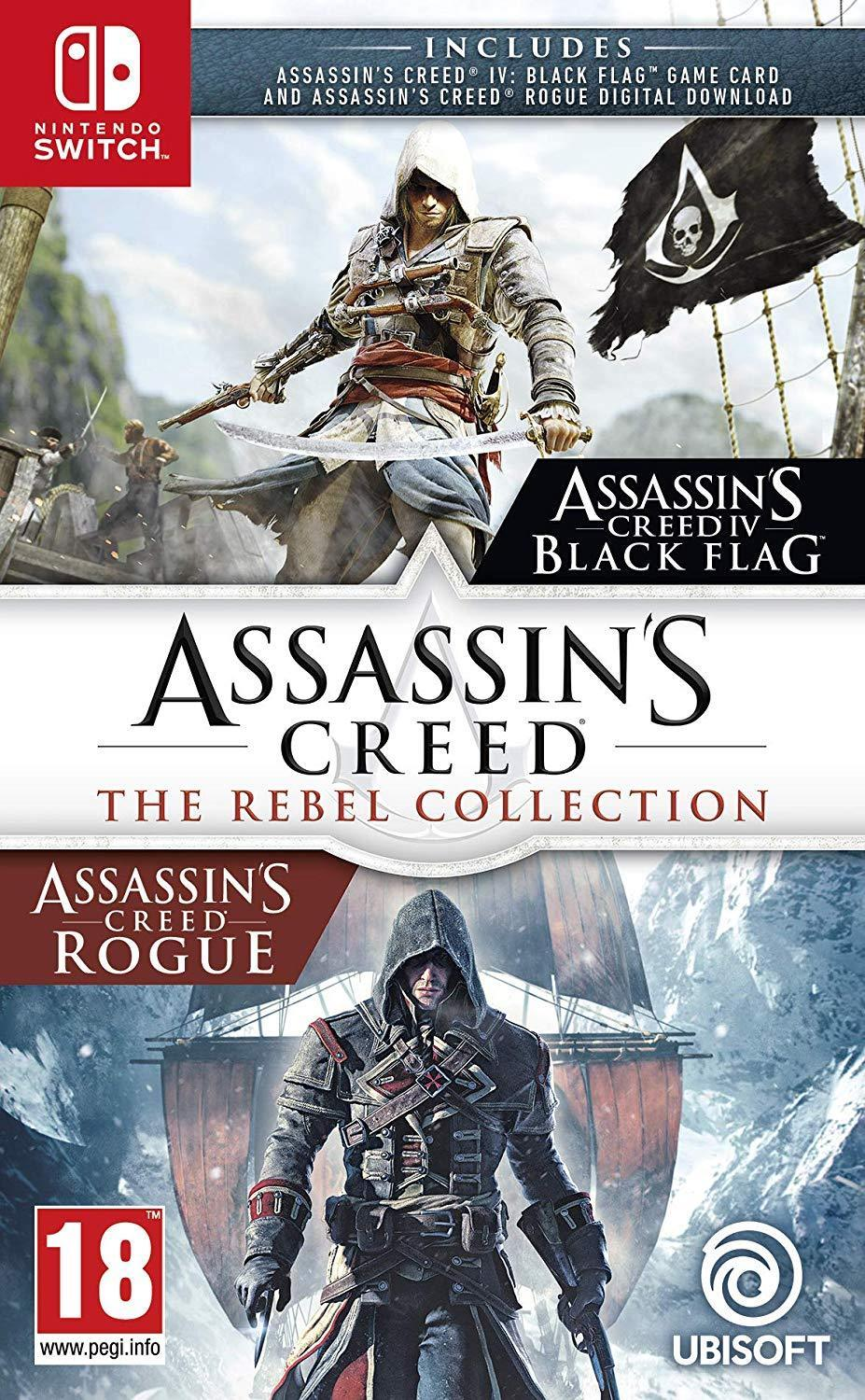 Jaquette de Assassin's Creed : The Rebel Collection