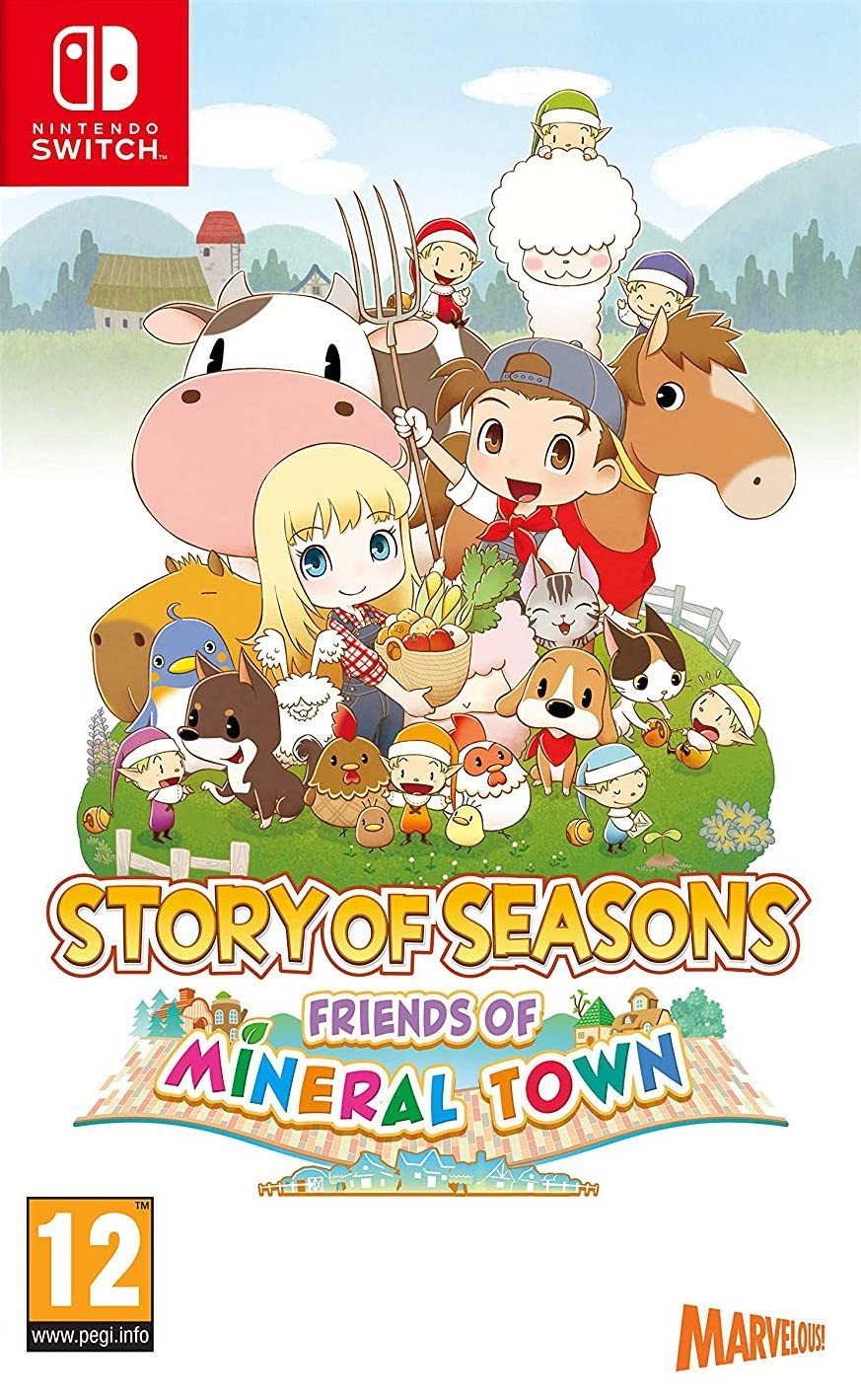 Jaquette de Story of Seasons: Friends of Mineral Town