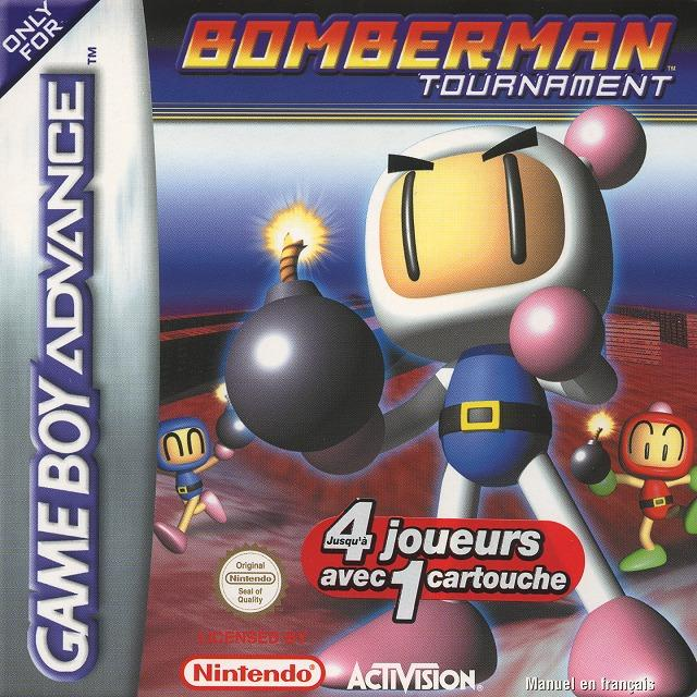 Jaquette de Bomberman Tournament