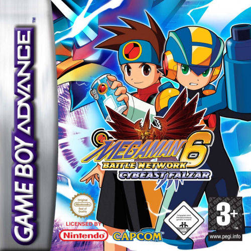 Jaquette de Mega Man Battle Network 6