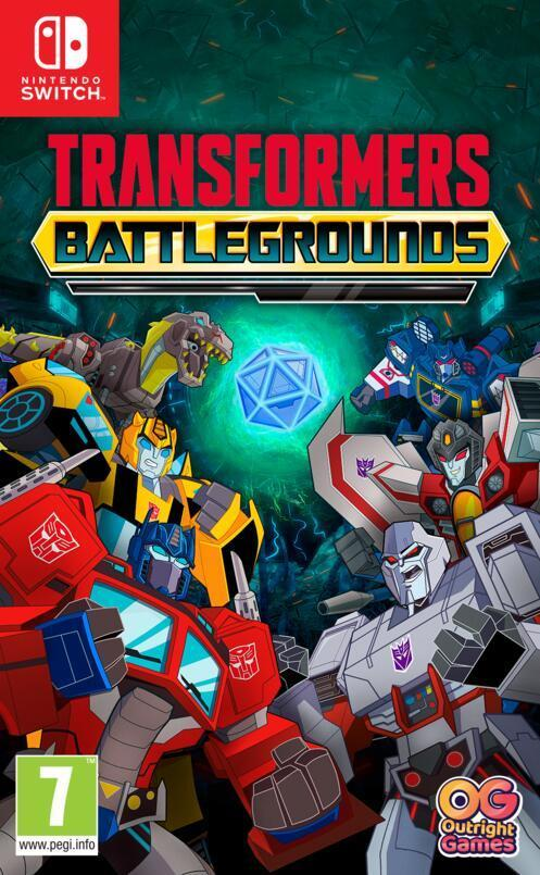 Jaquette de Transformers: Battlegrounds