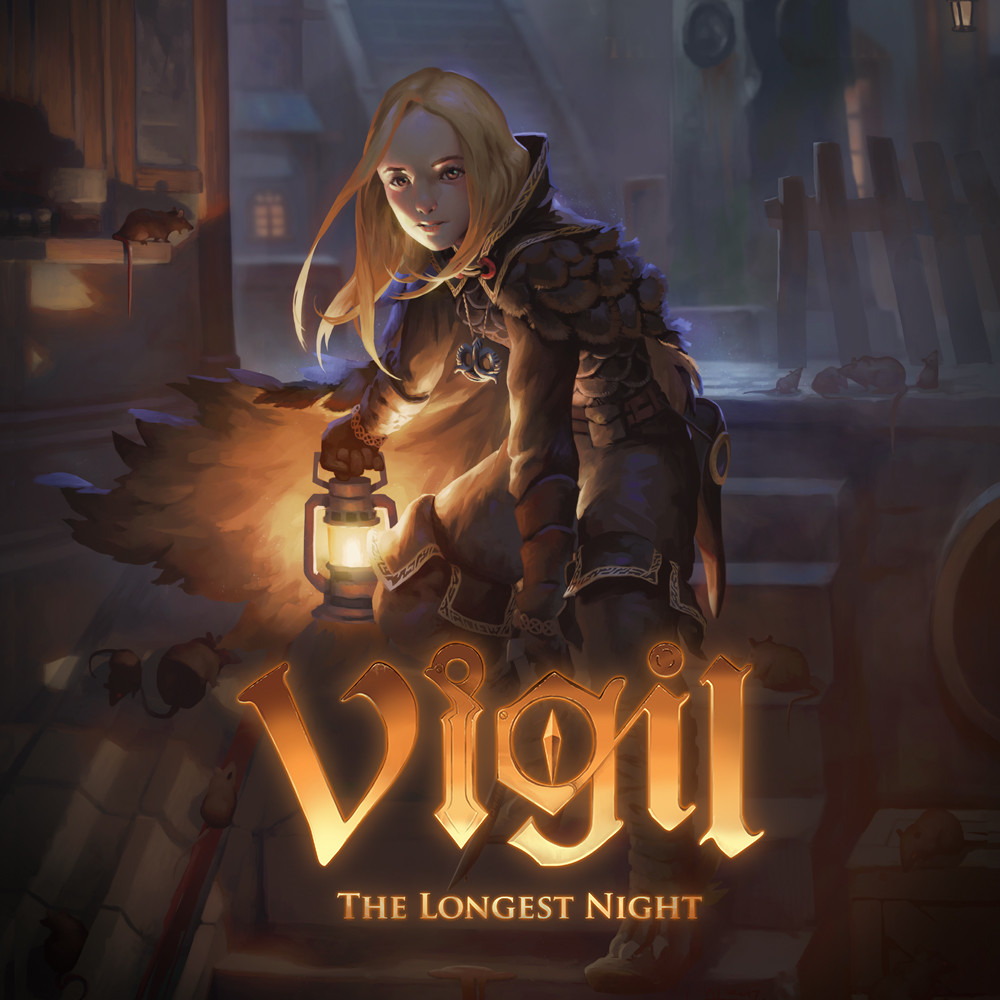 Jaquette de Vigil : The Longest Night