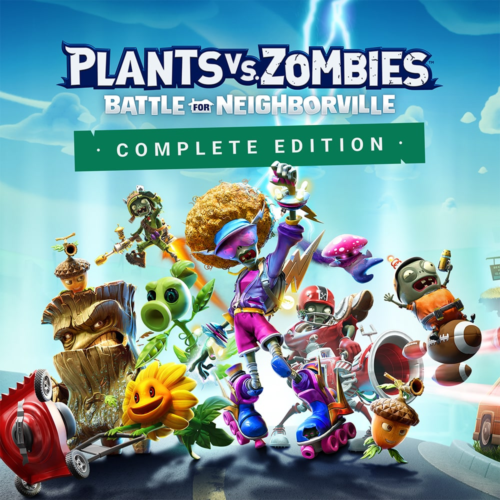 Jaquette de Plants vs. Zombies : La Bataille de Neighborville Édition Intégrale