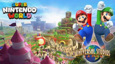 Le Super Nintendo World se précise au Japon